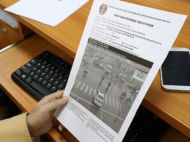 """Cảnh sát giao thông Hà Nội: Kiên quyết xử lý vi phạm """"nguội"""""""