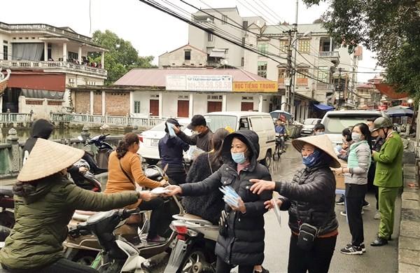 Hà Nội: Các địa phương chủ động phòng, chống dịch Corona