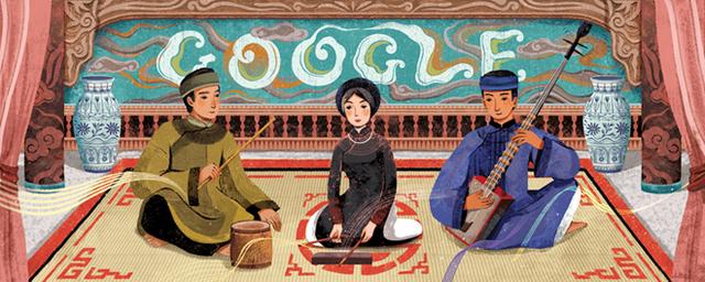 Ca trù Việt Nam được vinh danh trên Google
