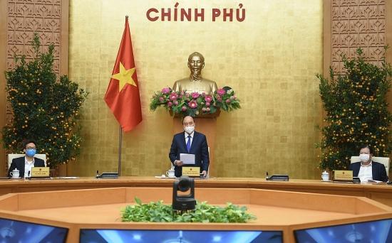Thủ tướng Nguyễn Xuân Phúc: Tuyệt đối không được mất cảnh giác trong phòng, chống dịch Covid-19