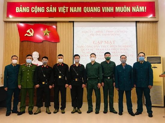 Gặp mặt nam thanh niên thực hiện nghĩa vụ quân sự