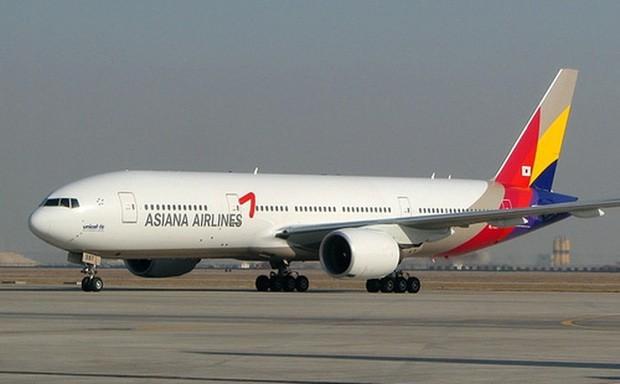 Một máy bay từ Hàn Quốc đến sân bay Nội Bài phải quay về nước