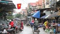 Chợ dân sinh ở Sơn Lôi nhộn nhịp trở lại