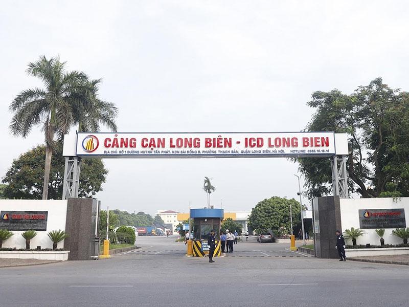 Bổ sung quy định chuyển cửa khẩu hàng nhập tại cảng cạn Long Biên