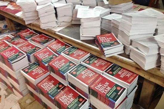 Chuyển cơ quan điều tra vụ hơn 40.000 cuốn sách giả ở Hà Đông