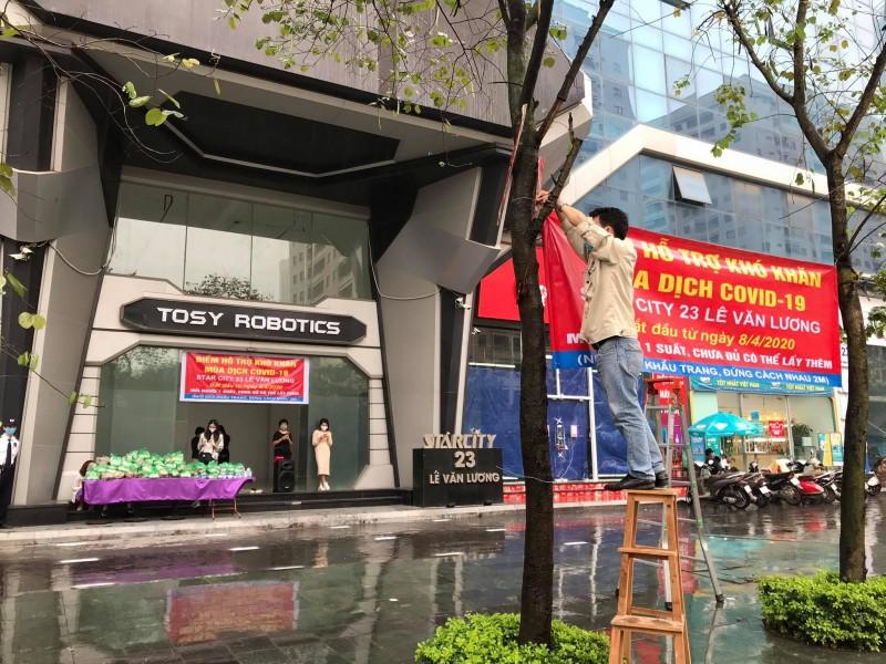 hanh dong dep tai chung cu star city