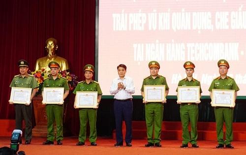 Chiến công xuất sắc của Công an thành phố Hà Nội