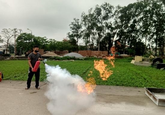 Đẩy mạnh tuyên truyền phòng cháy chữa cháy đến từng ngõ xóm, từng người dân