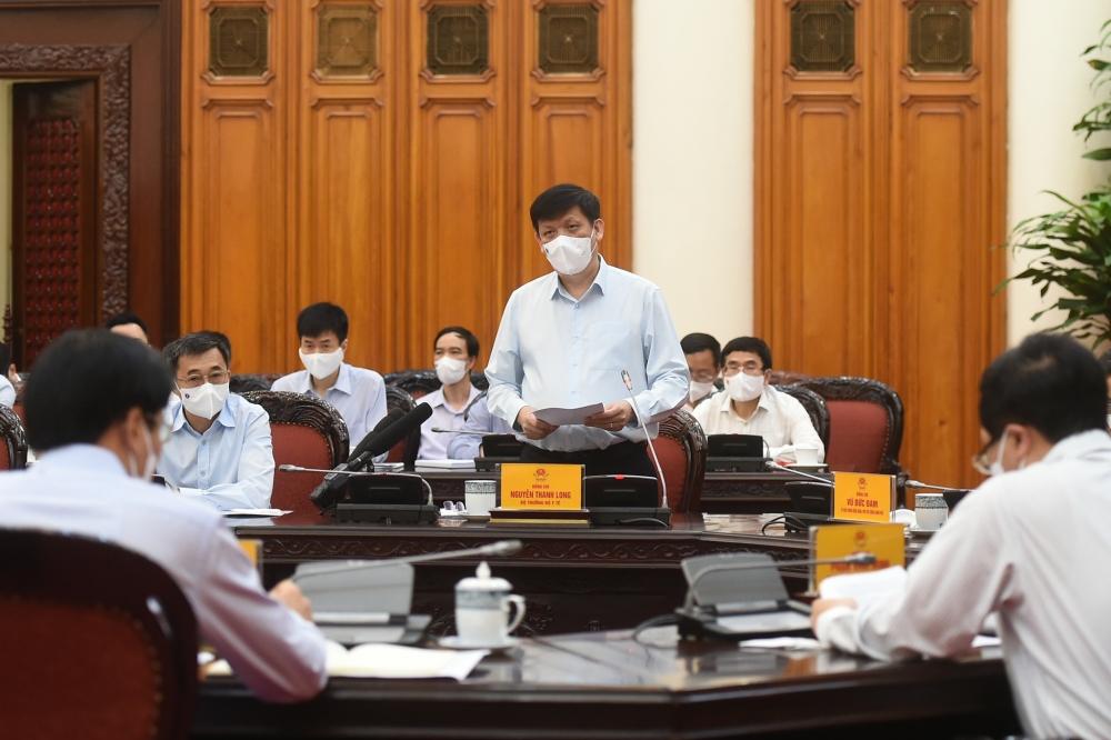 Thủ tướng chủ trì họp khẩn về công tác phòng, chống dịch Covid-19