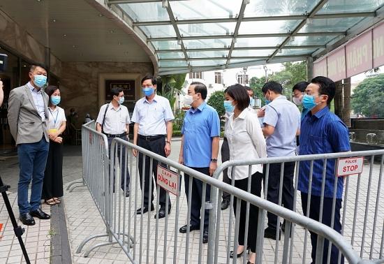 Quận Ba Đình: Tập trung cao độ cho công tác phòng, chống dịch Covid-19