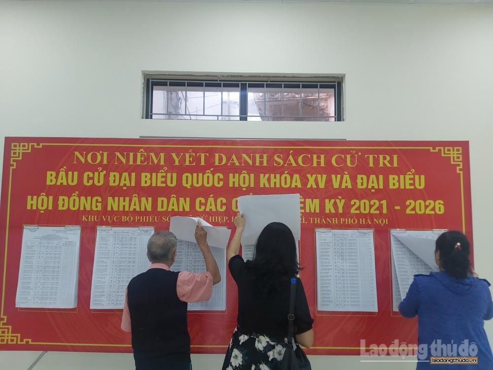 Huyện Thanh Trì: Công tác chuẩn bị cho ngày bầu cử được tiến hành chu đáo, khẩn trương