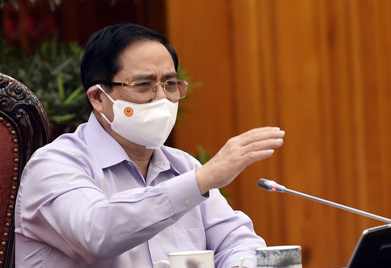 Thủ tướng Phạm Minh Chính: Dồn tổng lực để dập dịch
