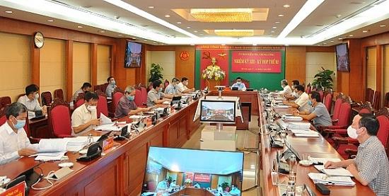 Thông cáo báo chí kỳ họp thứ ba của Ủy ban Kiểm tra Trung ương khóa XIII