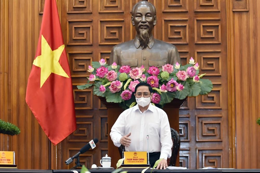 Thủ tướng Phạm Minh Chính: Tình hình dịch bệnh sắp tới được dự báo tiếp tục phức tạp
