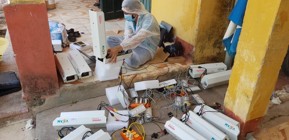 Viettel hoàn thành lắp đặt và kết nối 3.000 camera giám sát tại khu vực cách ly