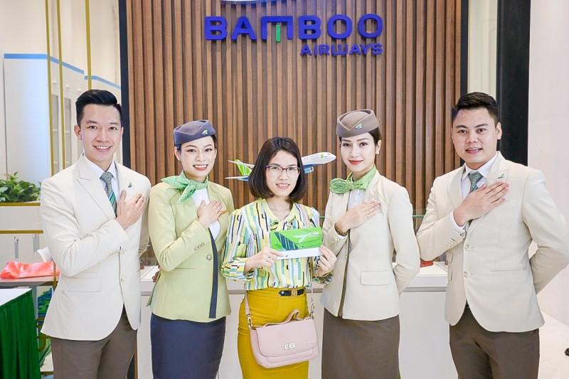 Bamboo Airways chính thức khai trương phòng vé 30 Tràng Tiền