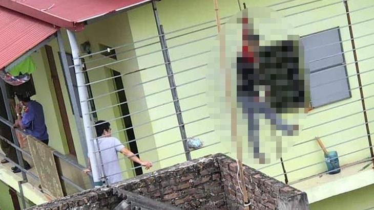 Bàng hoàng phát hiện nam thanh niên tử vong trong tình trạng treo cổ