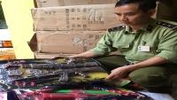Hà Nội: Tạm giữ hơn 20.000 đồ chơi trẻ em không rõ nguồn gốc