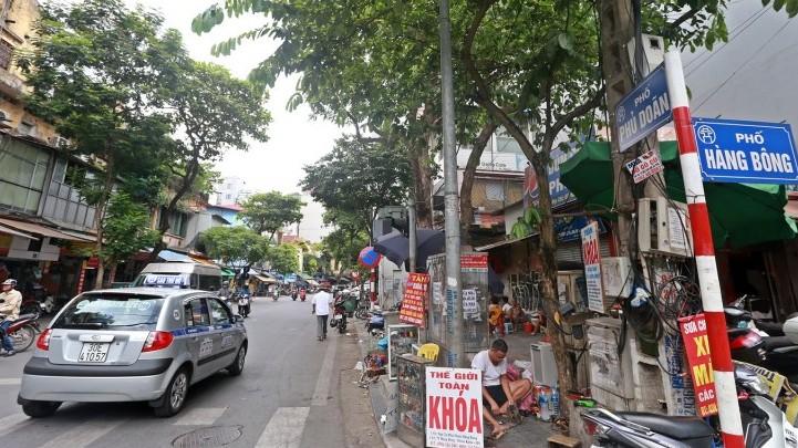 Điểm tên những tuyến phố cấm taxi ở Thủ đô