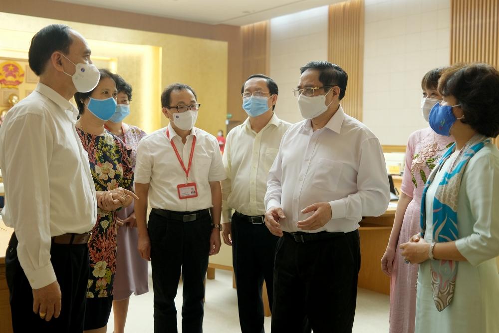 Thủ tướng Phạm Minh Chính: Quyết tâm nghiên cứu, chuyển giao, sản xuất bằng được vắc xin phòng, chống Covid-19