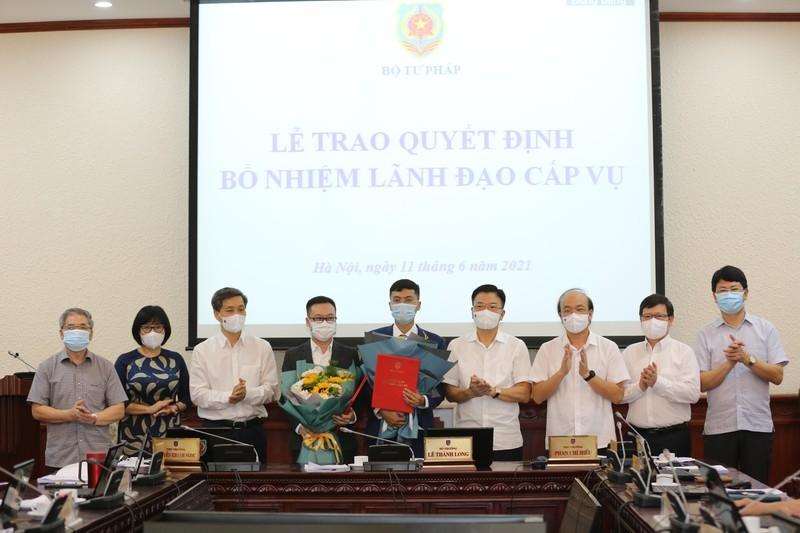 Bổ nhiệm 2 Phó Tổng biên tập Báo Pháp luật Việt Nam