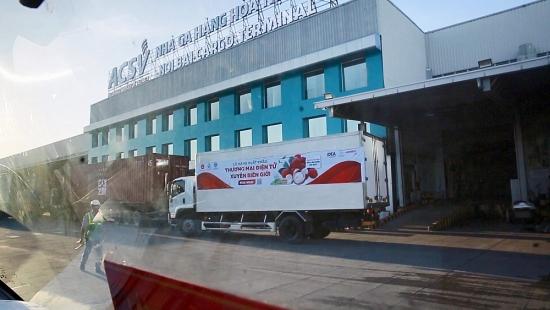 3 tấn vải Bắc Giang vừa được xuất khẩu sang châu Âu thông qua nền tảng thương mại điện tử Vỏ Sò của Viettel Post