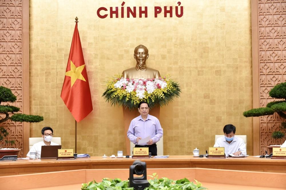 Thủ tướng chủ trì phiên họp Chính phủ chuyên đề xây dựng pháp luật