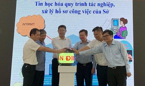 Sở Kế hoạch và Đầu tư Hà Nội triển khai mô hình cơ quan điện tử
