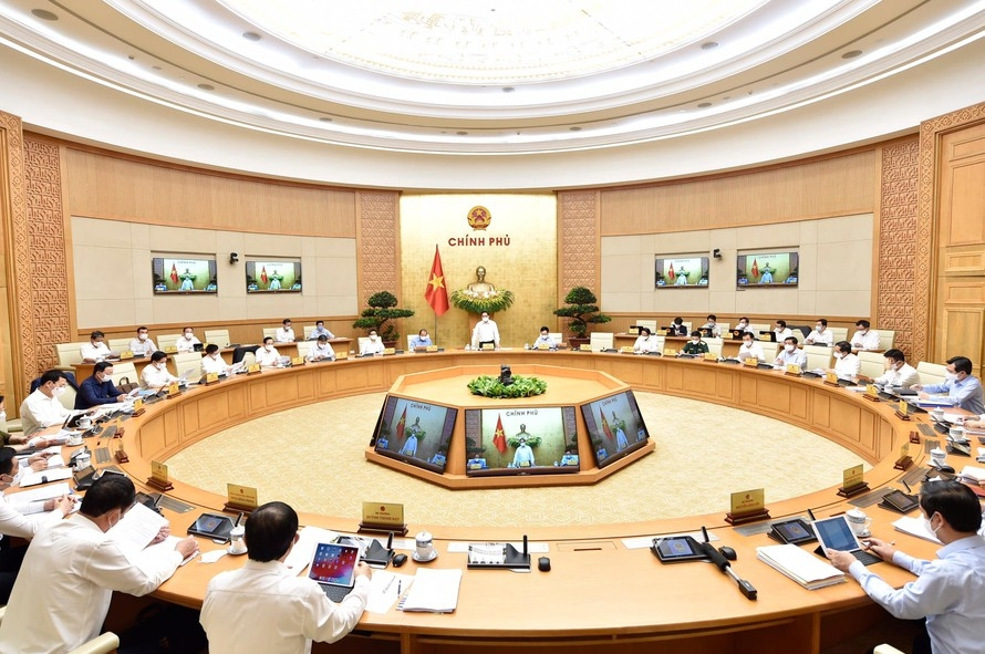 Chính phủ khóa mới có 18 bộ và 4 cơ quan ngang bộ