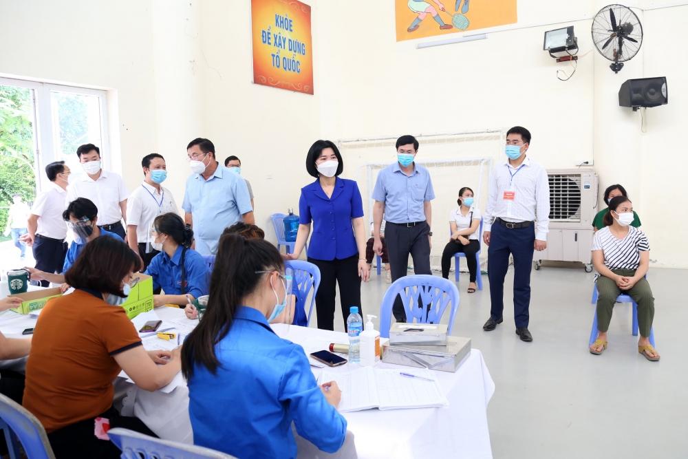 Huyện Ứng Hòa và quận Hoàng Mai chủ động triển khai các biện pháp phòng, chống dịch