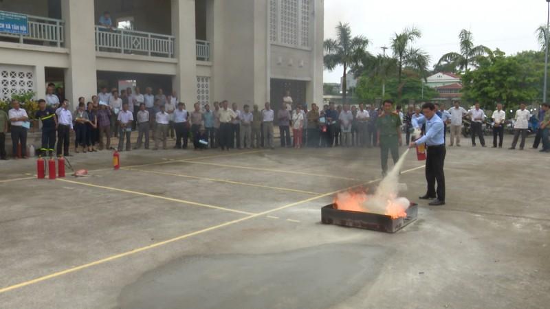 Đề cao công tác phòng cháy chữa cháy