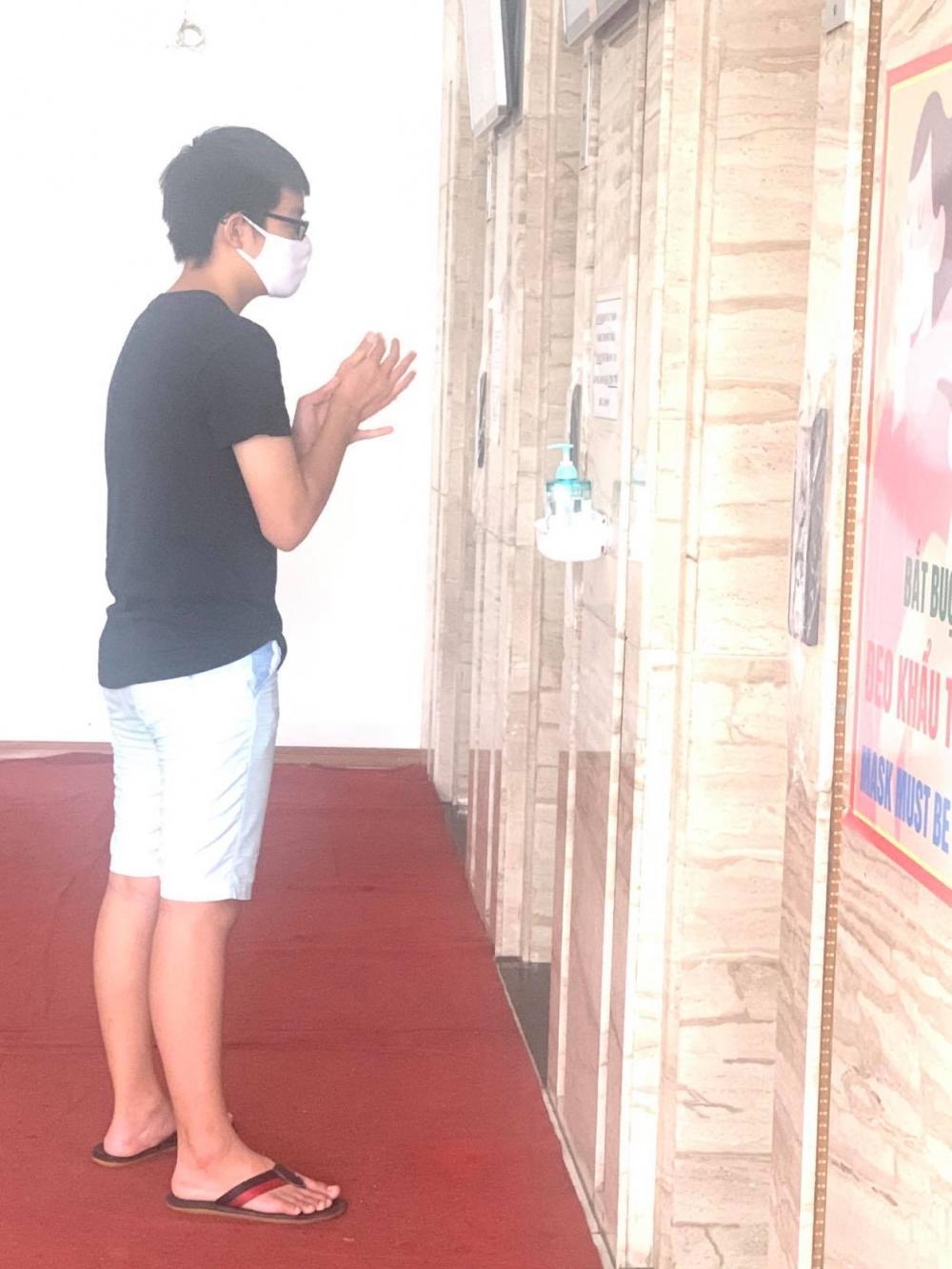 Các khu chung cư ở Hà Nội đẩy mạnh phòng dịch Covid - 19