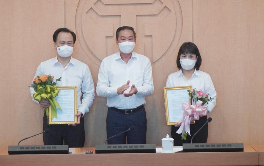 Bổ nhiệm 2 Phó Chánh Văn phòng UBND thành phố Hà Nội