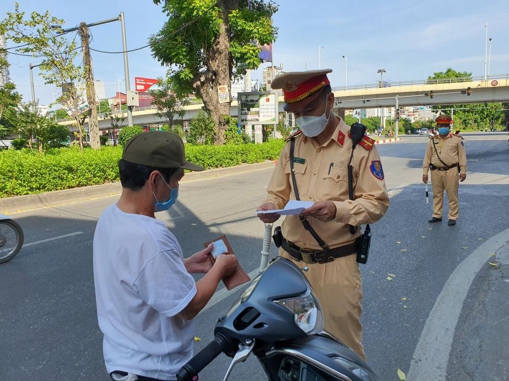 Hà Nội xử phạt 804 trường hợp vi phạm phòng, chống dịch