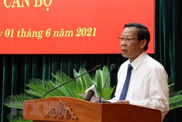 Thủ tướng phê chuẩn ông Phan Văn Mãi giữ chức Chủ tịch UBND thành phố Hồ Chí Minh