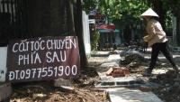 Quận Ba Đình: Dân khốn khổ vì con đường nhỏ làm cả tháng vẫn chưa xong