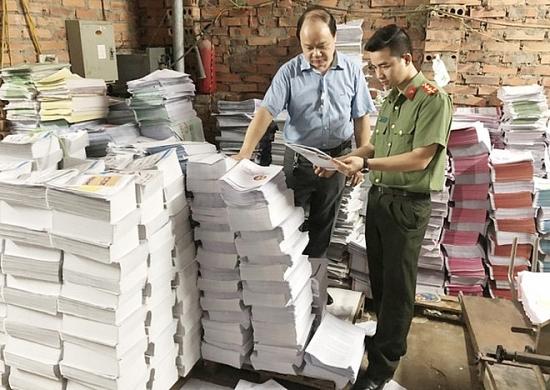 Triệt phá thêm một cơ sở in sách lậu tại Hà Nội
