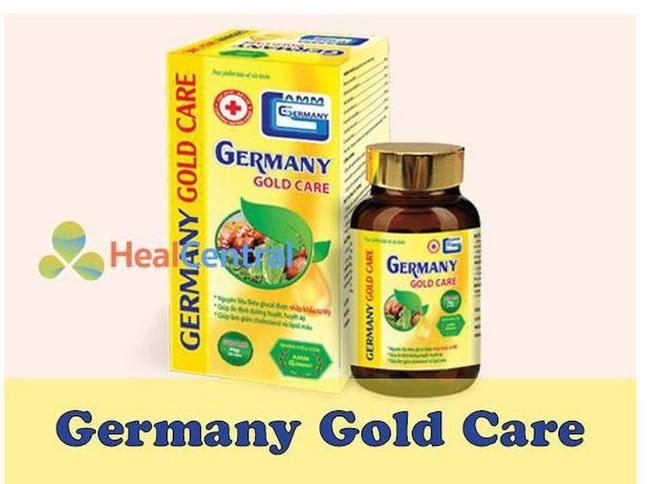 Cảnh báo về thông tin quảng cáo thực phẩm bảo vệ sức khỏe Germany Gold Care