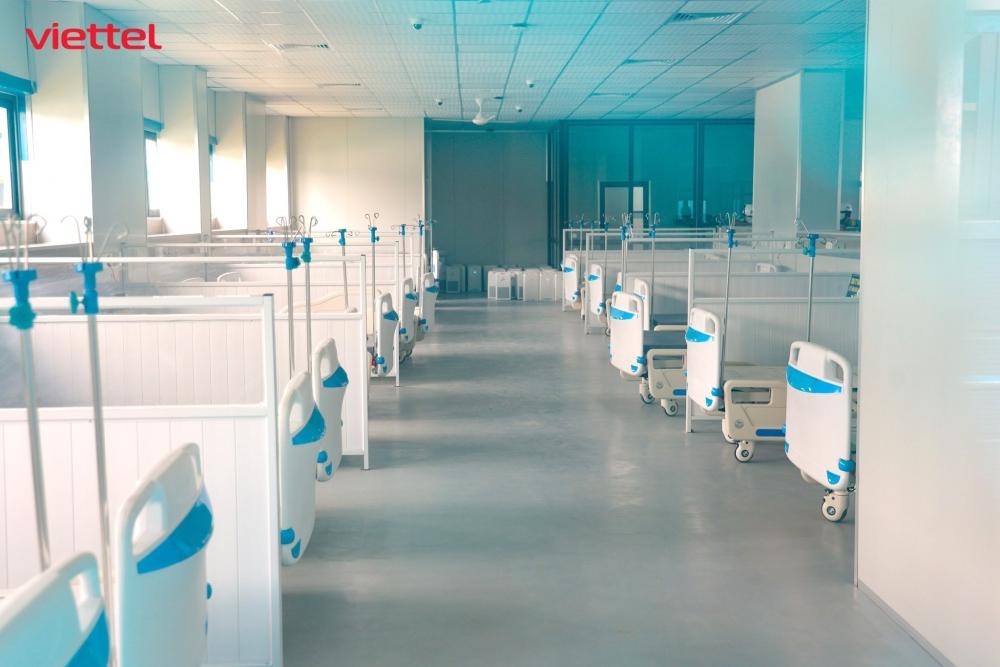 Viettel thiết kế hạ tầng công nghệ thông tin cho bệnh viện dã chiến hiện đại nhất Hà Nội