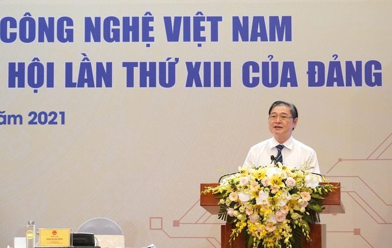 Chủ tịch VUSTA Phan Xuân Dũng phát biểu bế mạc Hội nghị