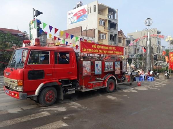 Huyện Thanh Oai: Tập huấn nâng cao nghiệp vụ PCCC