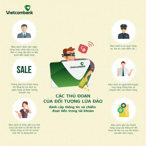 Vietcombank tiếp tục gửi cảnh báo đến khách hàng