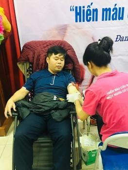 Công chức 22 lần hiến máu nhân đạo