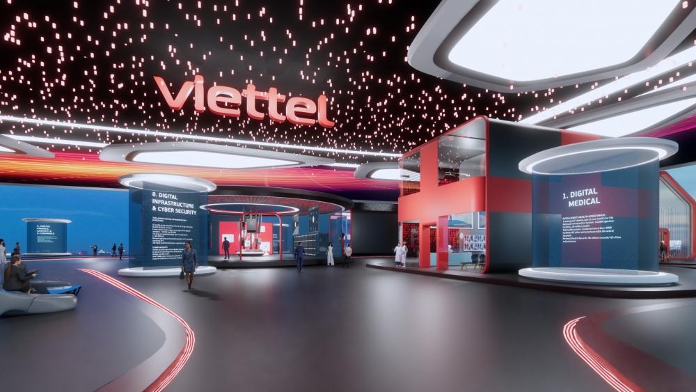 """Viettel mang đến một """"thế giới phẳng"""" tại triển lãm ITU Digital World 2021"""