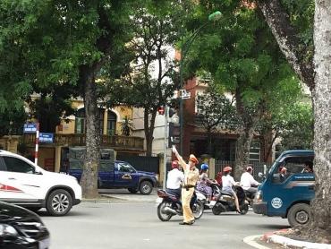 Công an Quận Ba Đình: Giữ vững an ninh trật tự trong kỳ họp Quốc hội