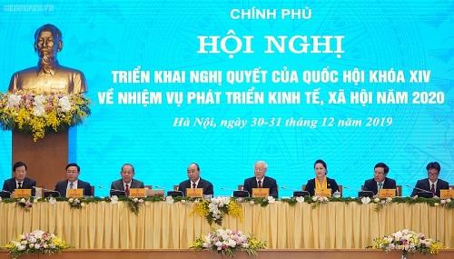 Khai mạc Hội nghị trực tuyến Chính phủ với các địa phương