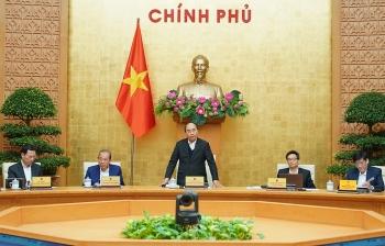 Chính phủ họp phiên thường kỳ tháng 11/2020