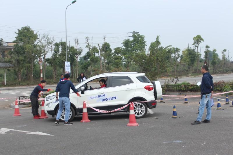 Ford tổ chức Ngày hội trải nghiệm và sáng tạo với EcoSport