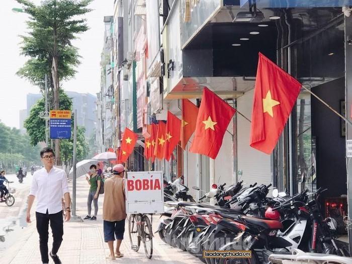 Trả lời kiến nghị của cử tri Thành phố Hà Nội về quy định sử dụng Cờ Tổ quốc