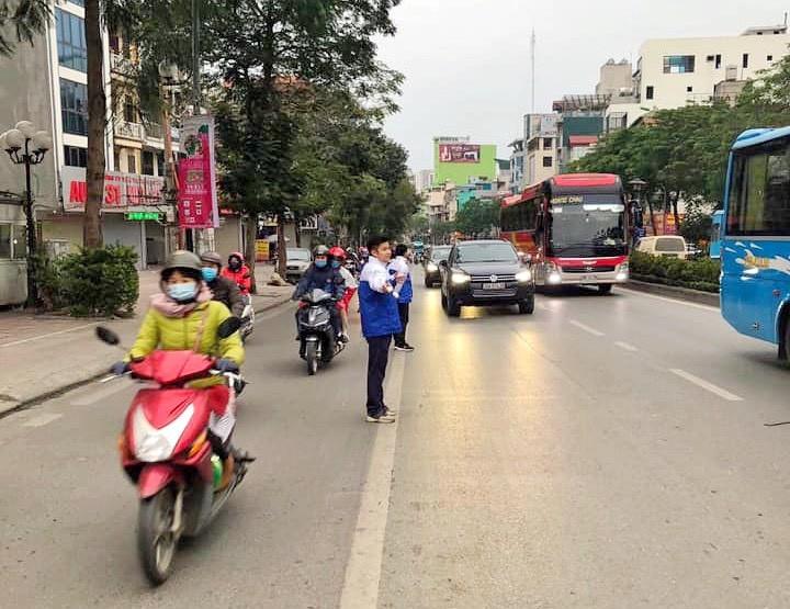 Tuổi trẻ Thủ đô ra quân các đội hình tình nguyện dịp Tết